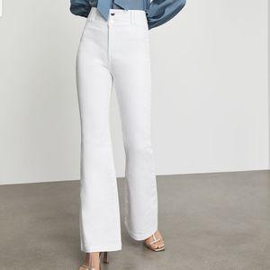 BCBGMaxAzria Stretch Denim Flared Jean